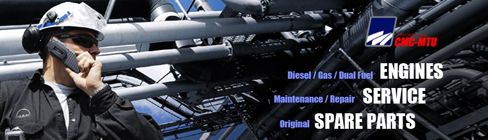 MAN-B&W│MAN-B-W-DIESEL ENGINE-GENERATOR SETS-TURBOCHARGER